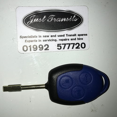 Genuine Ford Transit MK7 new key fob and blank key