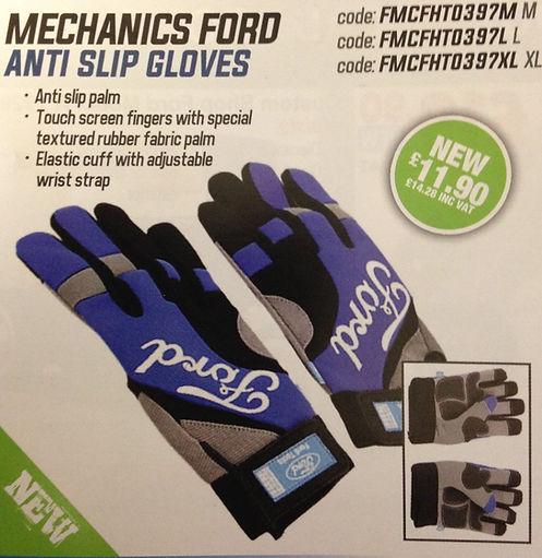 ford gloves