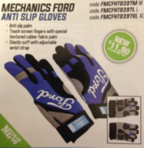 ford gloves