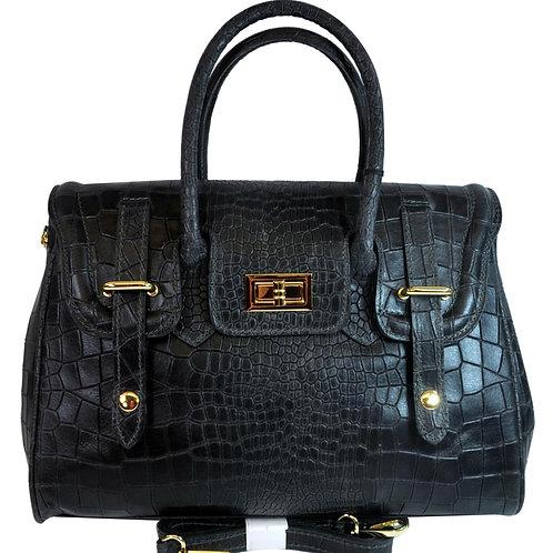 Misty U.S.A. 100% Genuine Cowhide Leather Handbags Made in Italy [YG8092-PR]