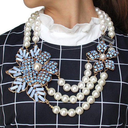 Sparkler Floral Necklace
