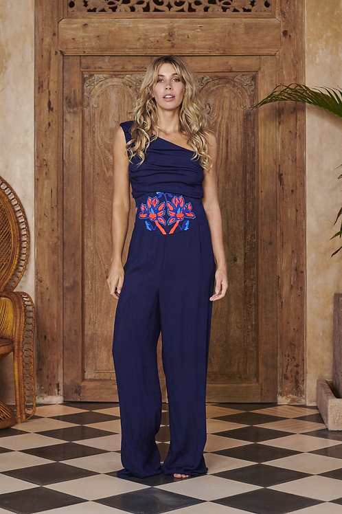 Nymph Jumpsuit in Navy