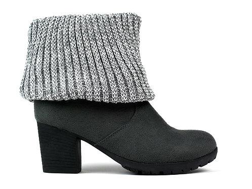 Women's Wool Ankle Boot Grey