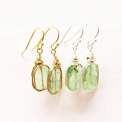 Akhdar Earrings