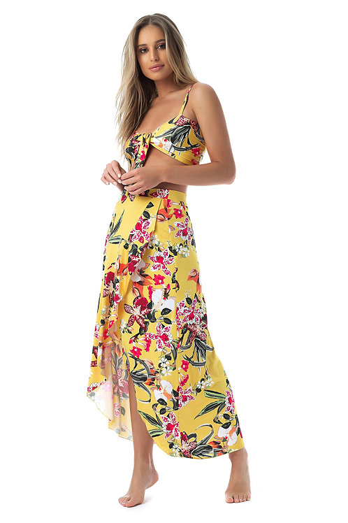 Long Flowy Summer Skirt - Bora Bora