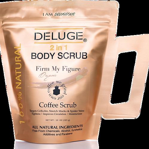 Organic Coffee Body and Face Scrub