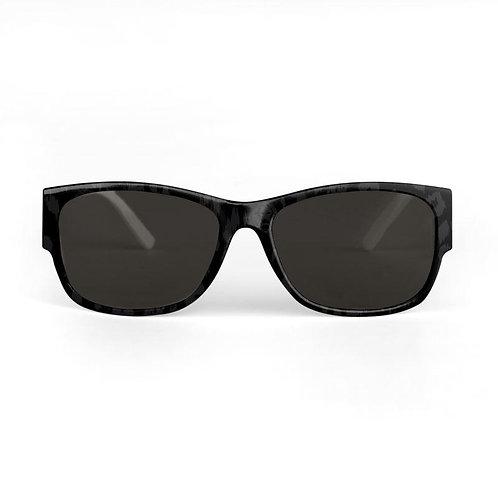 Black Leopard Sunglasses