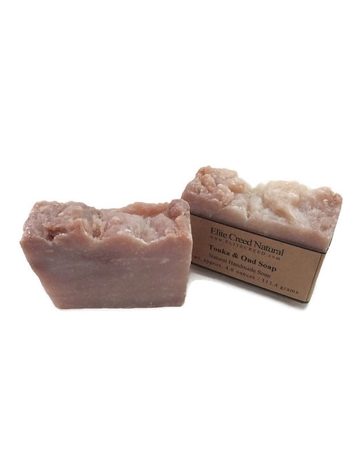 Tonka & Oud Handmade Soap