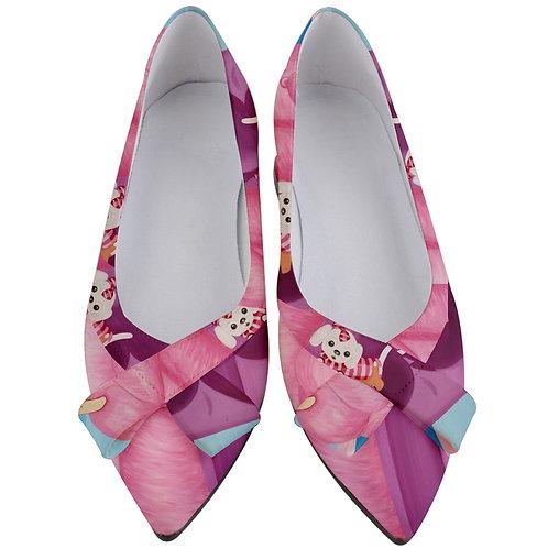 Palm Beach Days Women's Bow Heels