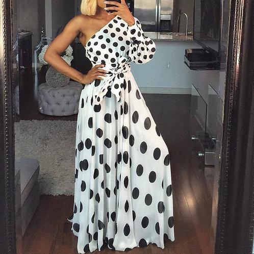 Boho Polkadot Dress