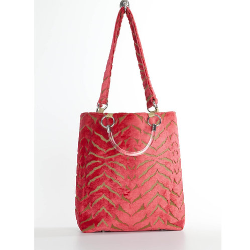 Magnetic Coral Large Tote