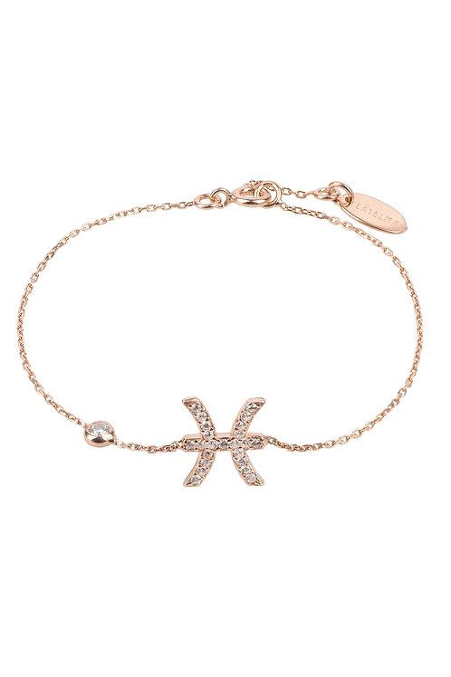 Zodiac Horoscope Star Sign Bracelet Pisces