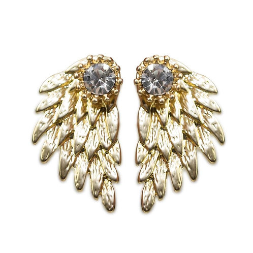 Mega Earrings-Gold