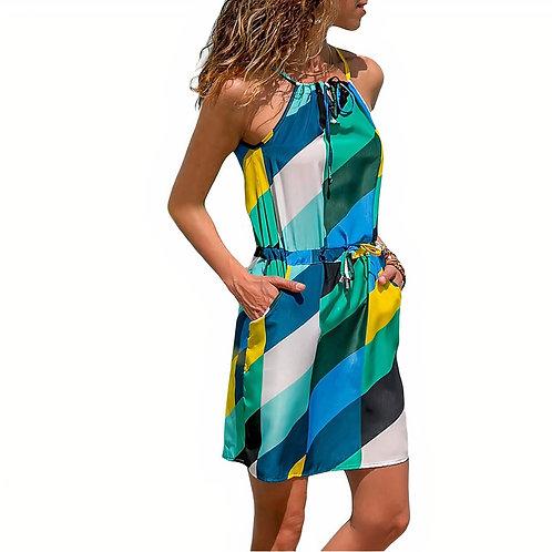 Lupe Dress -Geo