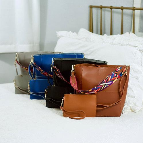 Handbag & Matching Wristlet