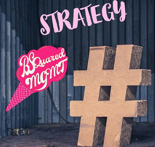 One Month Calendar Hashtag Strategy