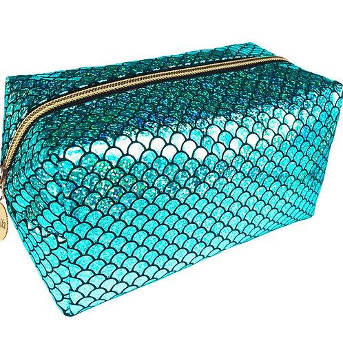 Mermaid Makeup Bag Green