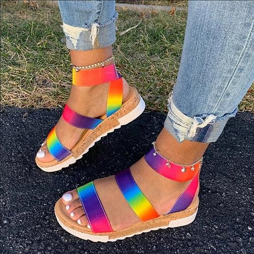 Summer Rainbow Sandal