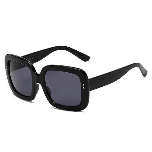 CLEMSON | S1089 - Women Retro Trendy Vintage Bold Square Oversize Sunglasses