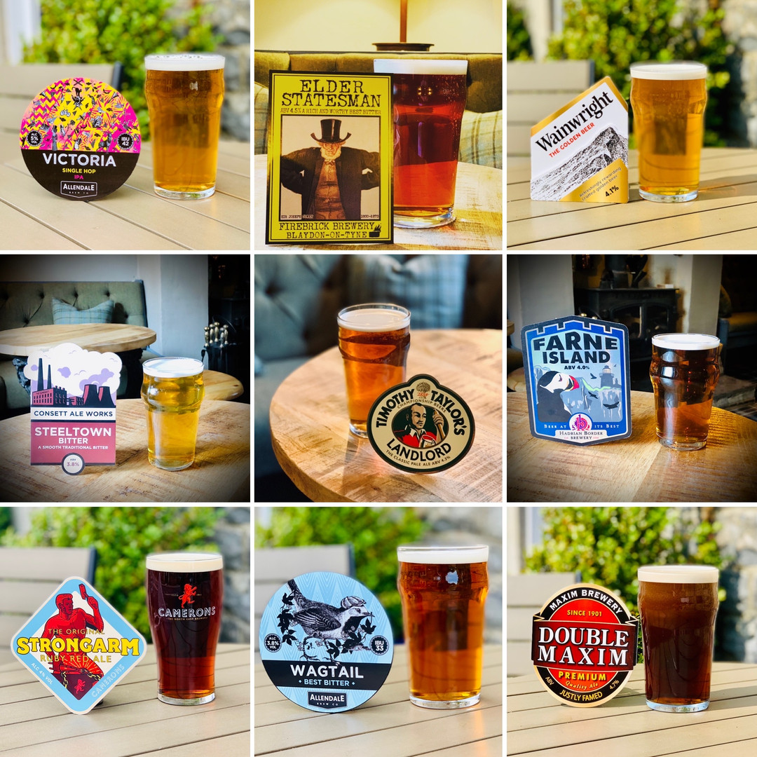 Selection of guest ales