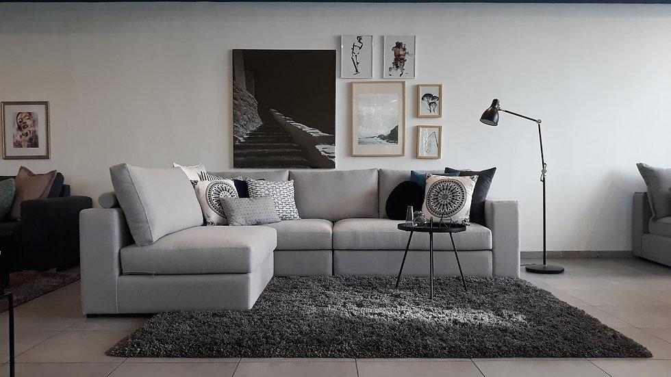 Πολυμορφικός γωνιακός καναπές Ερμής 2.80Χ2.00