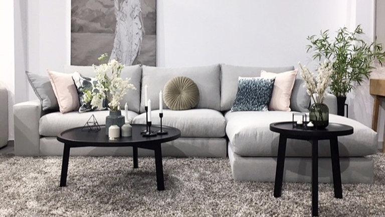Γωνιακός καναπές Εκάτη 2.85Χ1.90