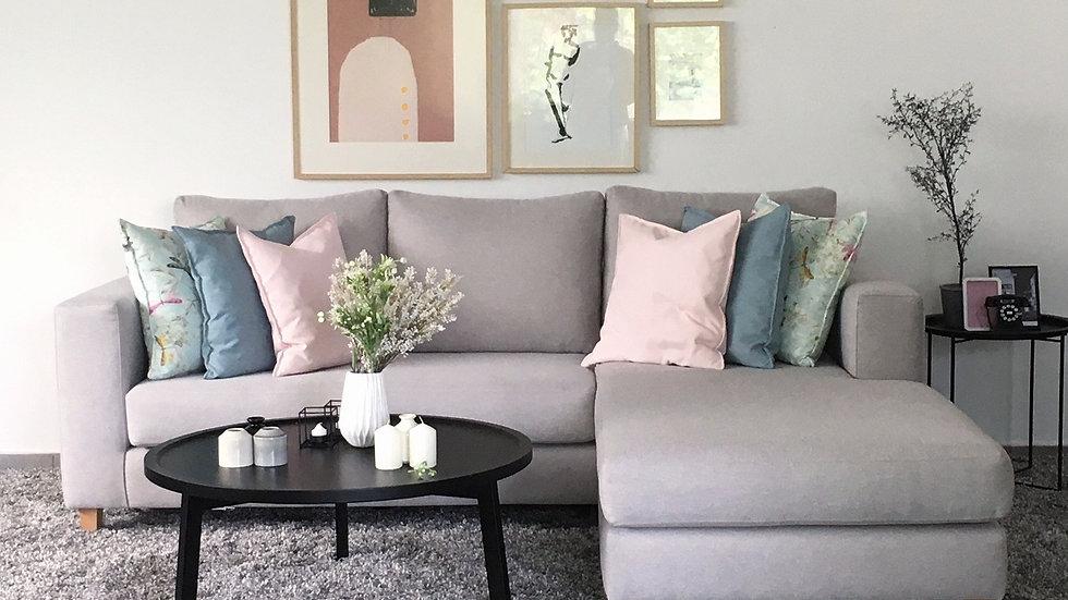 Πολυμορφικος γωνιακός καναπές Ιανός 2.30x1.70