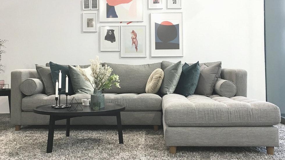 Γωνιακός καναπές Φαίδρα 2.90X2.00