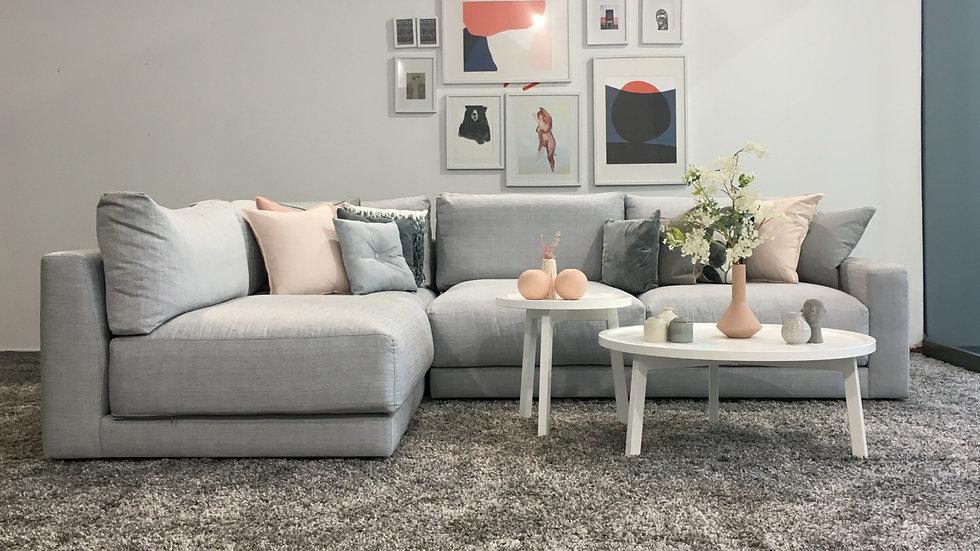 Γωνιακός καναπές Ιφιγένεια  2.95Χ2.15