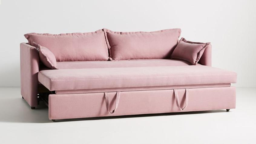 Καναπές κρεβάτι με στρωμα Ανδρονίκη 2.10Χ0.90