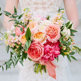 The #perfectpeonies bouquet 💐 love this