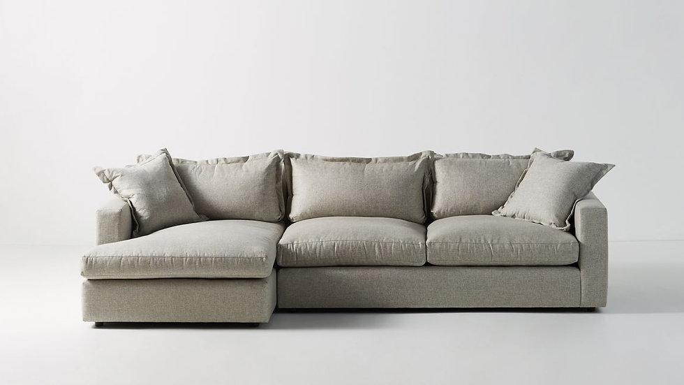Γωνιακός καναπές Κασσανδρα 270Χ170