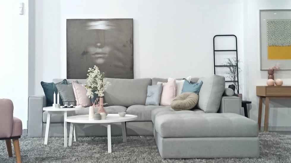 Πολυμορφικος γωνιακός καναπές Ηρω 280X260