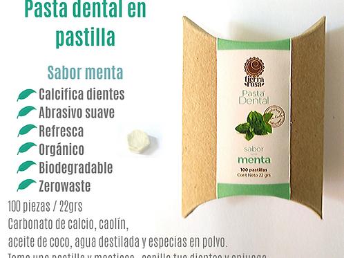 Pastilla Dental Cartón Chica