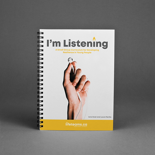 I'm Listening - Small Group Curriculum Book