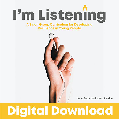 I'm Listening - Small Group Curriculum - DIGITAL DOWNLOAD