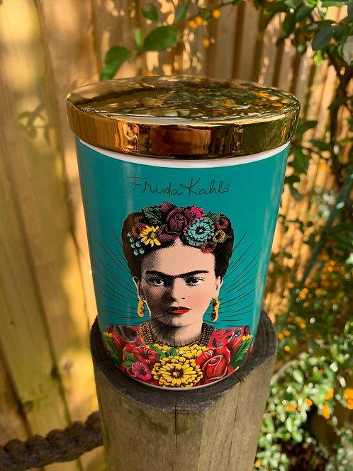 Enamel Frida Kahlo caddy