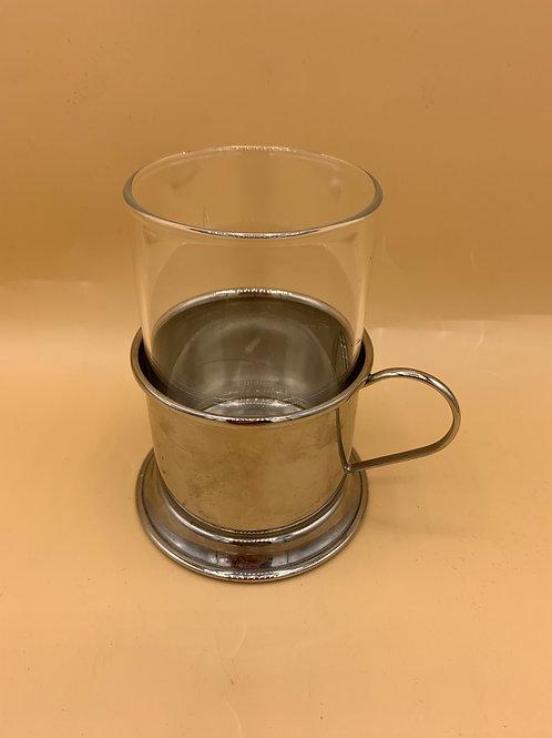 Vntage hot toddy glassware