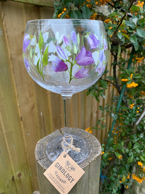 Bluebell gin glass~gift boxed