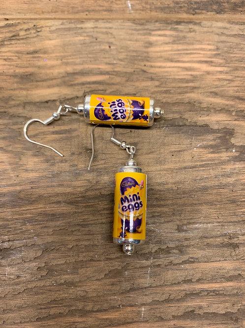 Mini Eggs earrings