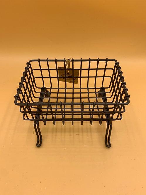 Liquid soap/sink tidy basket stand