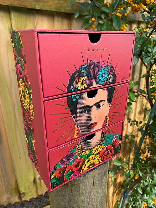 Red Frida Kahlo drawer