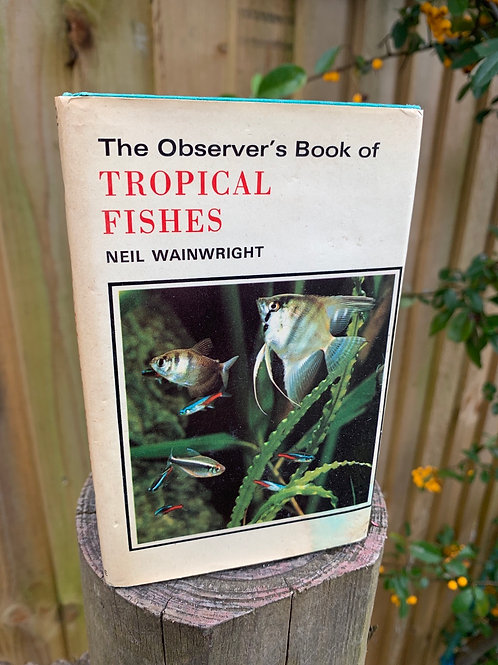 Vintage Observer's  book of Tropical Fish