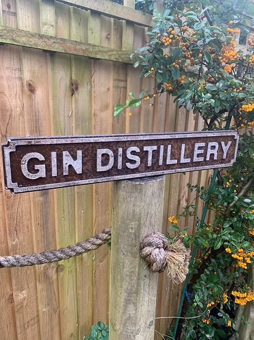 Gin sign