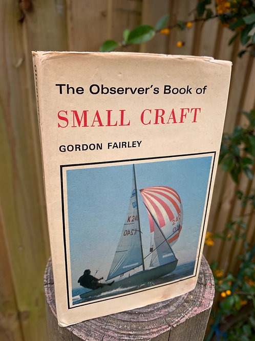 Vintage Observer's book of Small Craft