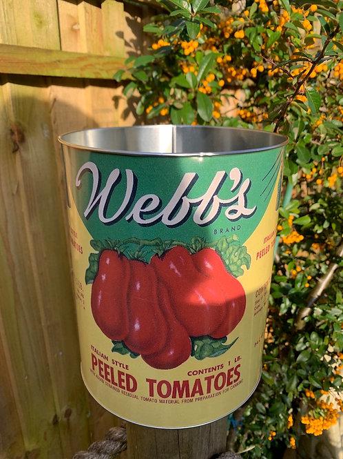 Giant tomato tin