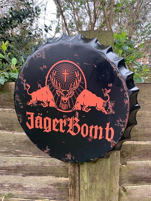 Giant Jäger Bomb bottle lid