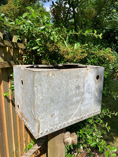 Rare small sized 1930's water tank planter
