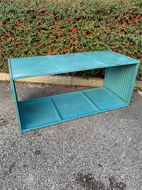 Shipping container style table