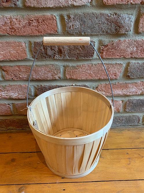 Bamboo display/storage buckets